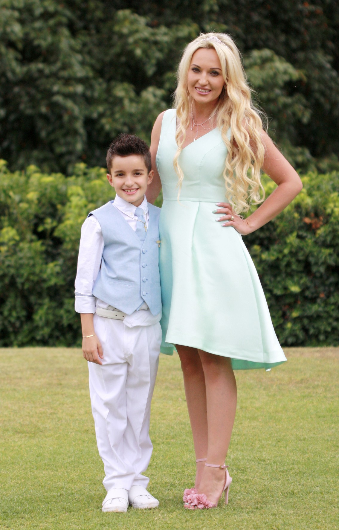 Tiago's First Holy Communion