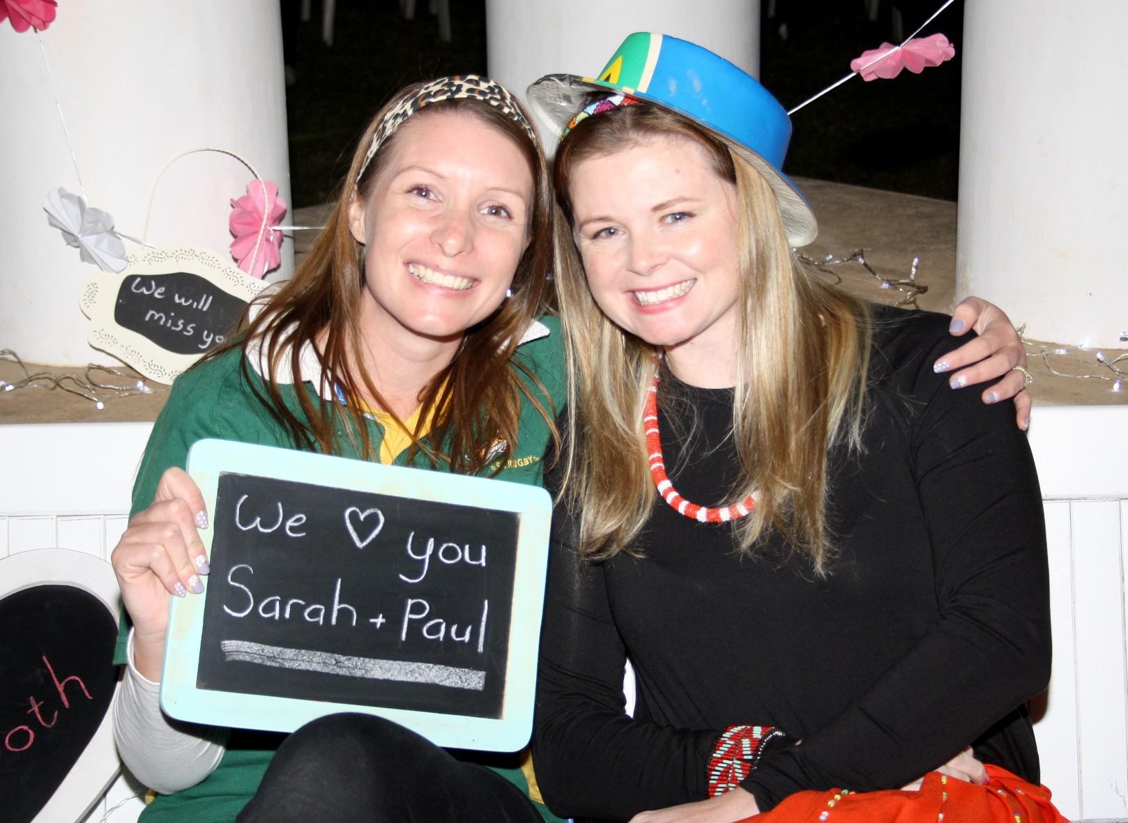 Sarah & Paul's Farewell